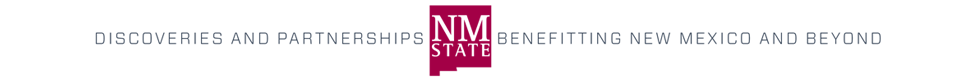 NMSU Resaerch and Resources Masthead